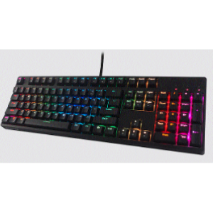 Tecware Spectre 104 Key Mechanical Keyboard, RGB LED, Red Switch (S104-ZORD)