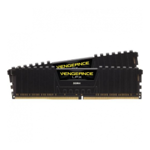 Corsair LPX 8GB (2x4GB) DDR4 DRAM 2666MHz C16 Memory Kit - Black (CS-CMK8GX4M2A2666C16)