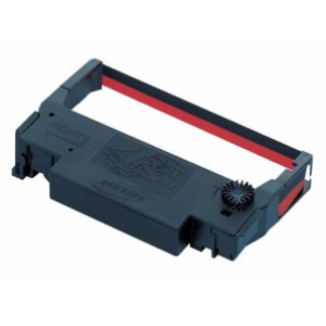 Epson ERC-38 B/R  Ribbon cartridge Red+Black2in1 (C43S015376)