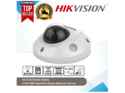 HIKVISION Hikvision Ds-2Cd2523G0-Is 2 Mp Ir Fixed Mini Dome Network Camera